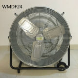 24 Zoll - hohe Geschwindigkeits-Trommel-Ventilator 2-Speed 7780 Cfm für Lager-Garage-Stall