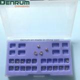 Parentesi graffe ortodontiche della base della maglia di fabbricazione di Denrum