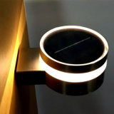 Свет стены электропитания напольного светильника сада СИД пластичный солнечный