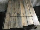 Настил древесины дуба ранга d твердый огорченный постаретый