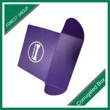 Boîte-cadeau d'une seule pièce faite sur commande de papier d'imprimerie de couleur empaquetant avec la vente en gros de laminage de Matt