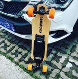 Promoción 4 ruedas Longboard Skateboard eléctrico con control remoto