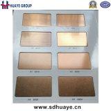 Rosen-GoldEdelstahl-Farben-Dekor-Platten-Panel-Spiegel-beendete das Haarstrich aufgetragene Sand-Starten