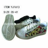 De recentste Toevallige Schoenen van de Schoenen van het Canvas van de Injectie van Vrouwen (FFYJ1223-01)