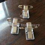 Clip con el Pin, clip de la tarjeta, clip de papel de la divisa conocida de los enchufes de fábrica