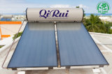 Chaufferette d'eau chaude solaire de pression de plaque plate
