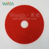 Rilievo di marmo rosso del buffer del tampone a cuscinetti per lucidare del pavimento per pulizia di spruzzo bagnata