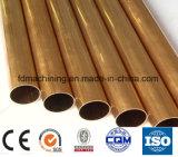 Tubo de cobre amarillo de H59 H63 para las piezas de la industria