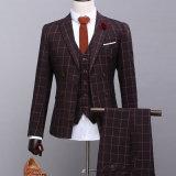 Костюм дела людей платья блейзера Three-Piece костюма (тельняшки кальсон куртки)