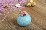 Rectángulo de joyería de cerámica coloreado redondo de la flor (CC-17)