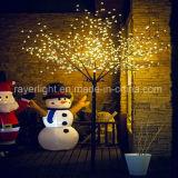 祝祭の装飾のための商業チェリーのクリスマスLEDの木の小枝ライト