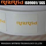 UHFの試供品RFIDの札の耐熱性光沢紙RFIDの札