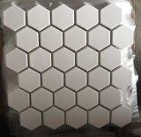 Telhas 2017 cerâmicas sextavadas do mosaico do vintage com o gelo do Crackle cerâmico