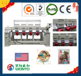 Computergesteuerte 12 Nadel-multi Hauptstickerei-Maschine für Schutzkappe/T-Shirt/flach Stickerei