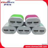 Заряжатель перемещения USB передвижного вспомогательного оборудования 2 сотового телефона портативный