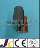Profil en aluminium de porte coulissante, profil en aluminium d'extrusion (JC-W-10043)