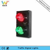 Mini semaforo rosso 100mm personalizzato del segnale di verde LED