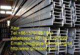 Q235, Q275, Q345, Ss400, feixe laminado a alta temperatura no perfil de aço