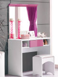 Mobília moderna envernizada do quarto do projeto moderno lustro elevado novo (HC835)