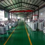 Transformateur économiseur d'énergie de distribution d'énergie de série de transformateur de Feuilleter-Faisceau immergé dans l'huile/