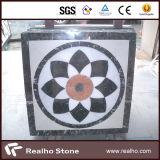白かベージュ色またはブラウンまたは黒い大理石のモザイクスペシャル・イベントパターン