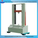 Máquina de prueba universal de la fuerza extensible del motor servo de la vertical para el caucho