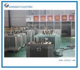 Сразу фабрика поставляет трансформатор масла 1600 kVA распределения силы 3 участков 22kv
