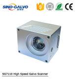 Scanner précis élevé de lecture du Galvo Sg7110 pour la machine d'inscription de laser