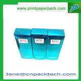 Rectángulo de empaquetado impreso aduana del perfume cosmético del favor