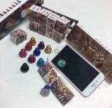 Smartphoneのタブレットのアーケード・ゲームのための移動式ジョイスティックのタッチ画面のジョイスティック