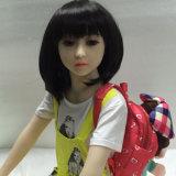силикона TPE груди 128cm кукла секса малого реалистическая для человека