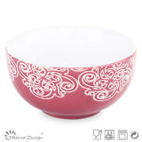 13.2cm Silk Screen Ceramic Bowl