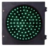 Diámetro verde redondo 200m m de la luz de la señal de tráfico del carril 8 pulgadas