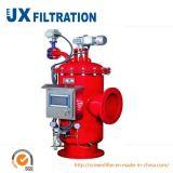 Tamiz de repercusión automático del filtro de agua