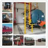 Le plus défunt pétrole horizontal de 2 tonnes/chaudière à vapeur à gaz