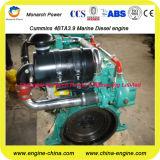 Морской вспомогательный двигатель с турбонагнетателем охлаженным водой