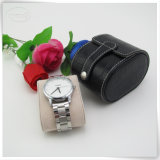 Venda por atacado de couro falsificada da caixa de relógio da alta qualidade