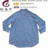 Camisas largas de la manera al por mayor del algodón