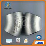 Нержавеющая сталь приспосабливая штуцер трубы локтя 45D с CE (KT0072)