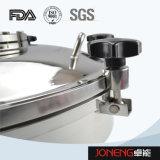 Tipo rotondo igienico botola dell'acciaio inossidabile con indicatore luminoso (JN-ML2002)