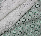 Tela do laço do bordado do laço do algodão da tela do vestuário da alta qualidade