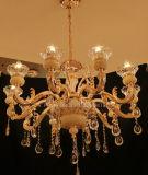 Iluminación casera europea de la decoración de Phine con la lámpara pendiente de la aleación del cinc