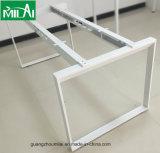 Projeto simples moderno L mesa do computador de Office&Home da forma com frame de aço