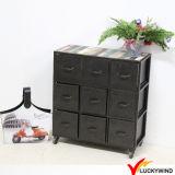 Estilo industrial de la vendimia metal resistente gabinetes de almacenamiento