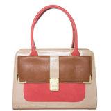 Dame-Form-Beutel-Farben-Kombination PUtote-Beutel-Handtasche