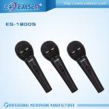 Microphone tenu dans la main de câble dynamique de 1800s grands de qualité