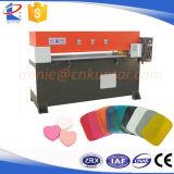 Pressa idraulica di taglio di precisione del tessuto manuale