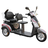 500With700W Two Seat Electric Tricycle avec Deluxe Saddle (TC-018B)