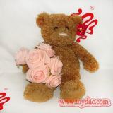 Peluche Bear avec Flower Toy