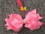 Hairpins серебра металла способа Bowknot декоративные на дети 84